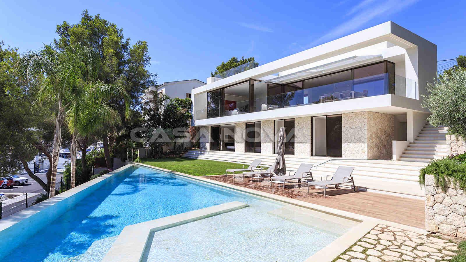 Elegante Mallorca Villa mit eindrucksvollem Außenbereich