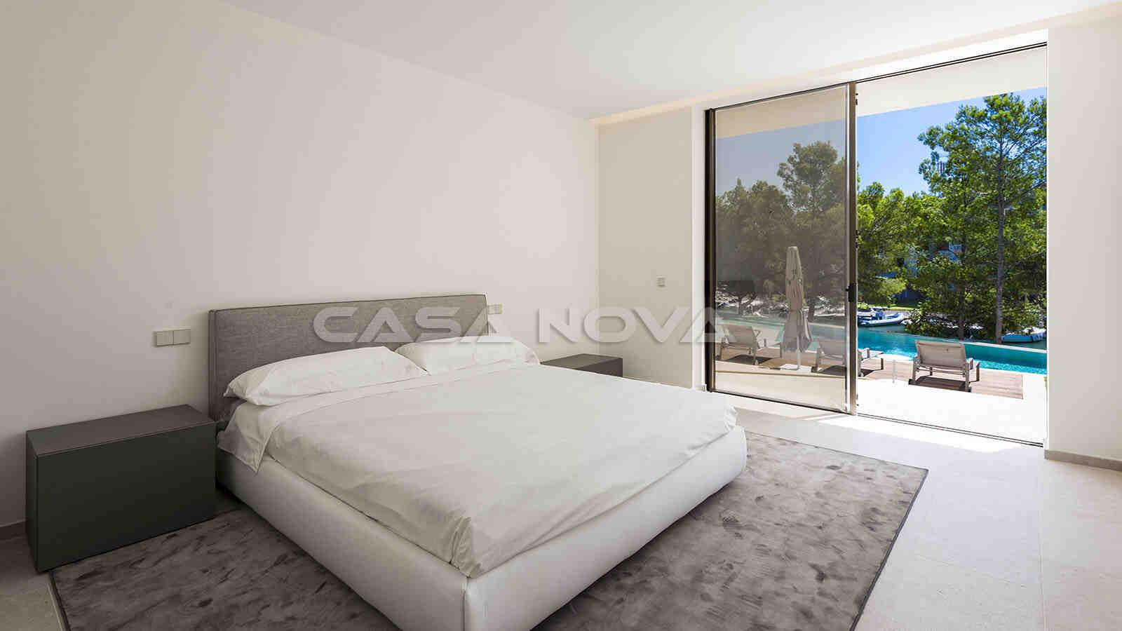 Erstklassiges Doppelschlafzimmer mit Terrassenzugang