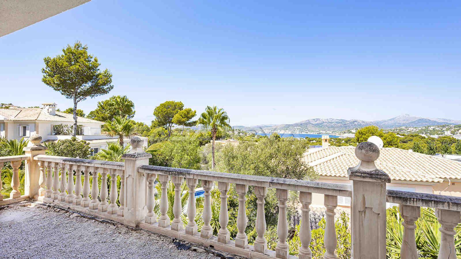Ausblick aus der 1. Etage der Mallorca Villa