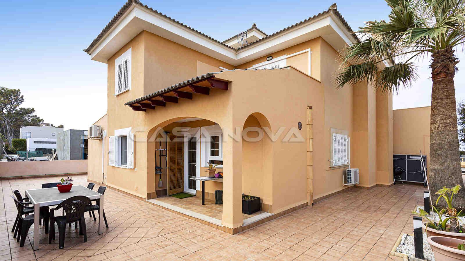 Mallorca Villa mit großzügigen Terrassenflächen