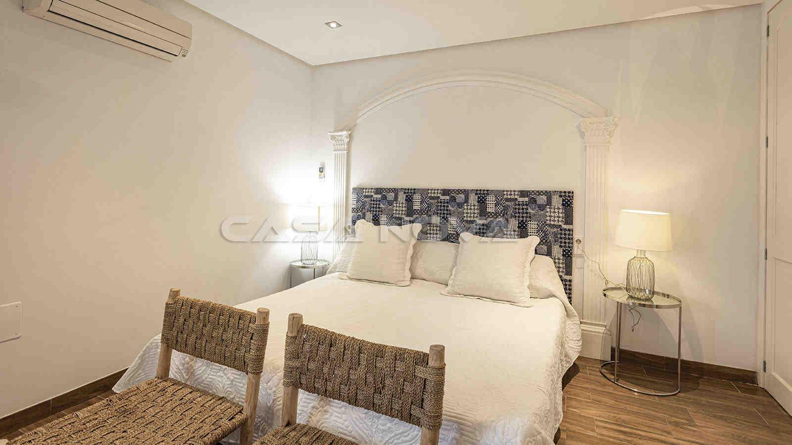 Gemütliches Doppelschalfzimmer mit Klimaanlage