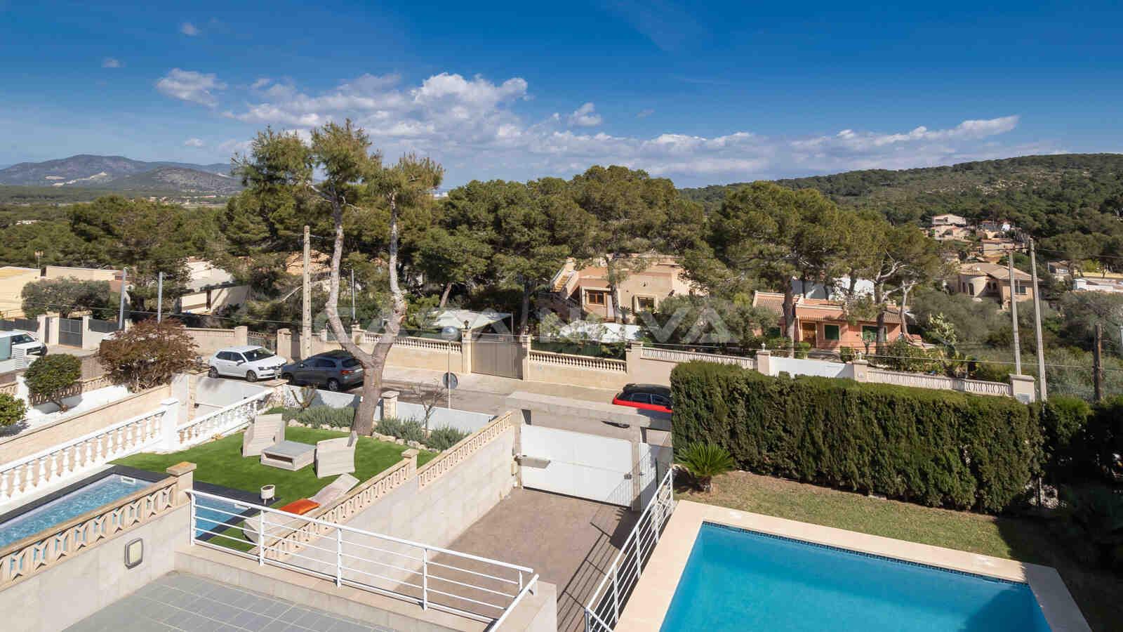 Modernisiertes Mallorca Chalet in ruhiger Wohngegend