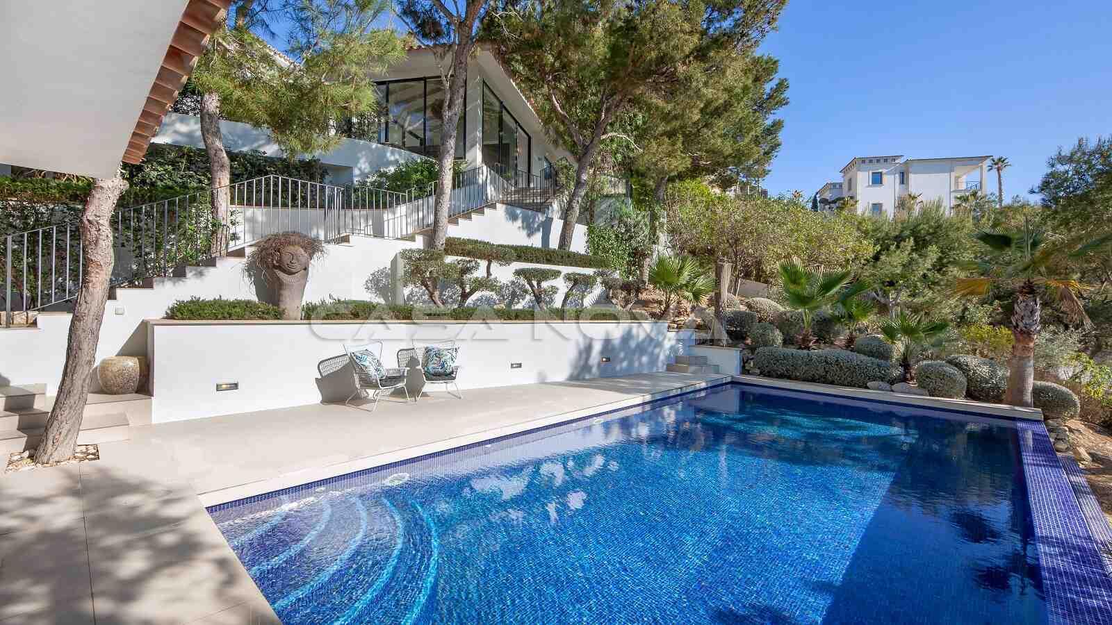 Hochwertige Mallorca Villa mit Pool und Sonnenterrassen