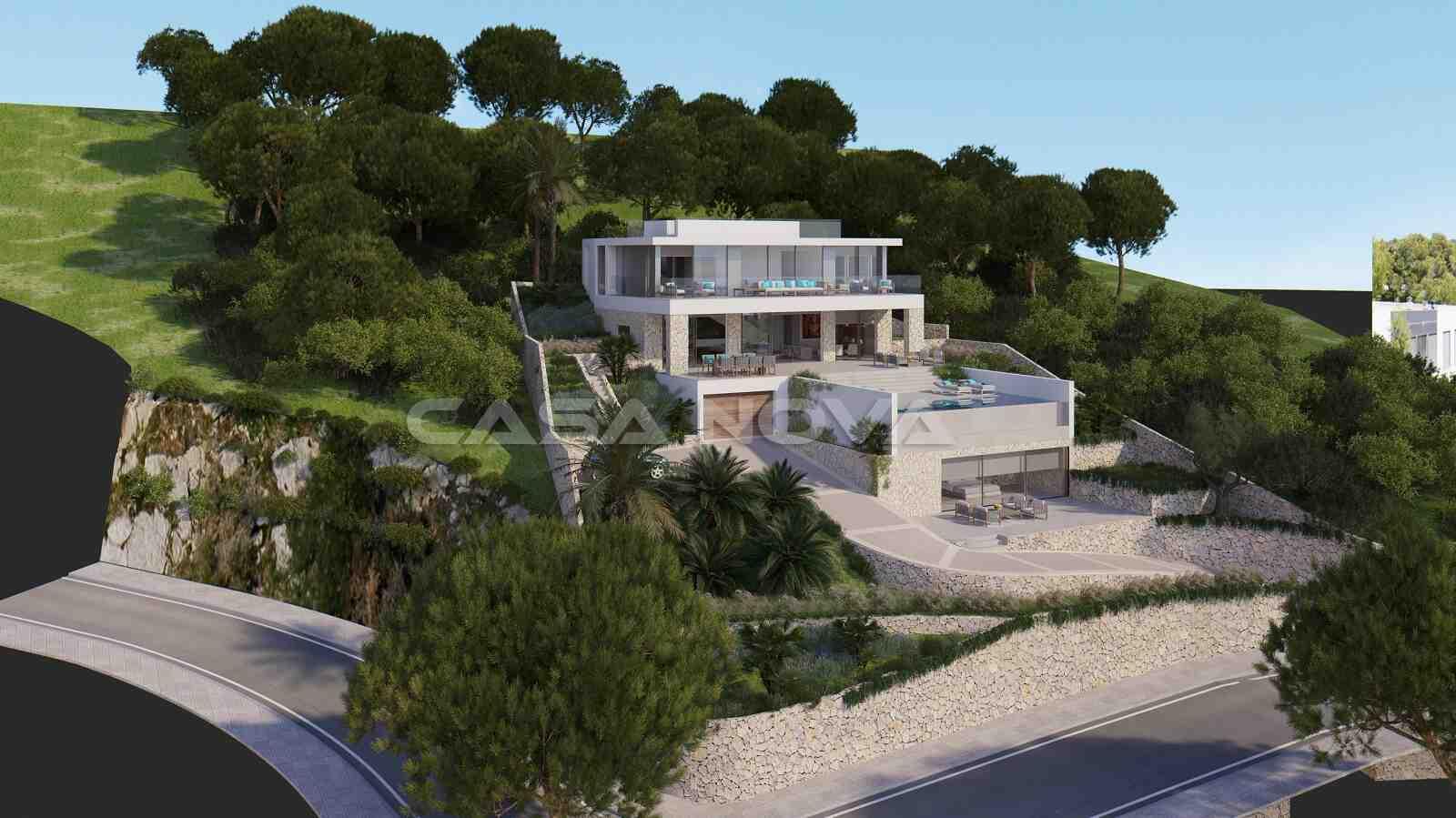 Luxus Neubau Villa mit Top Ausstattung