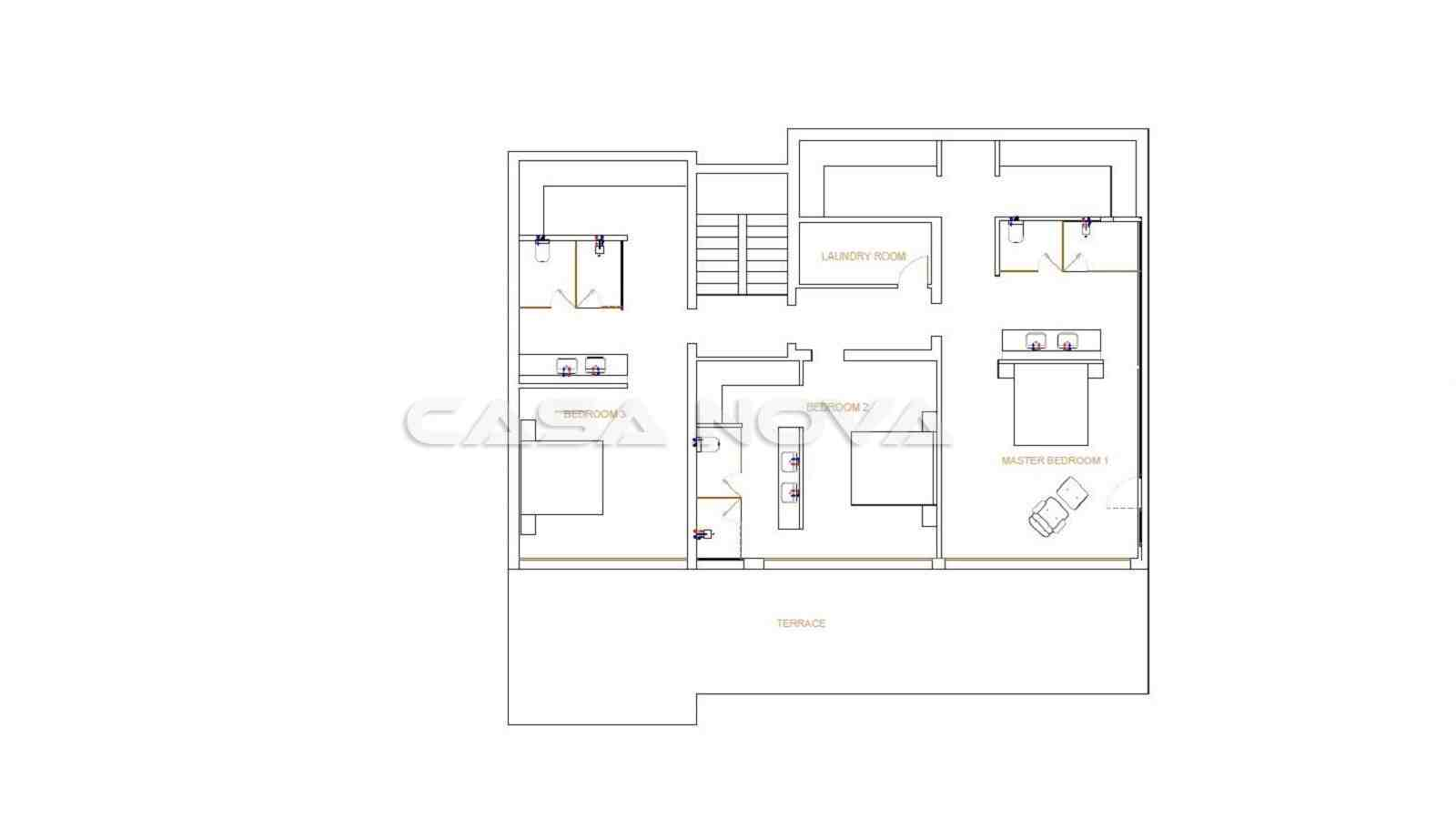 Meerblick Villa in modernem Design in bevorzugter Lage