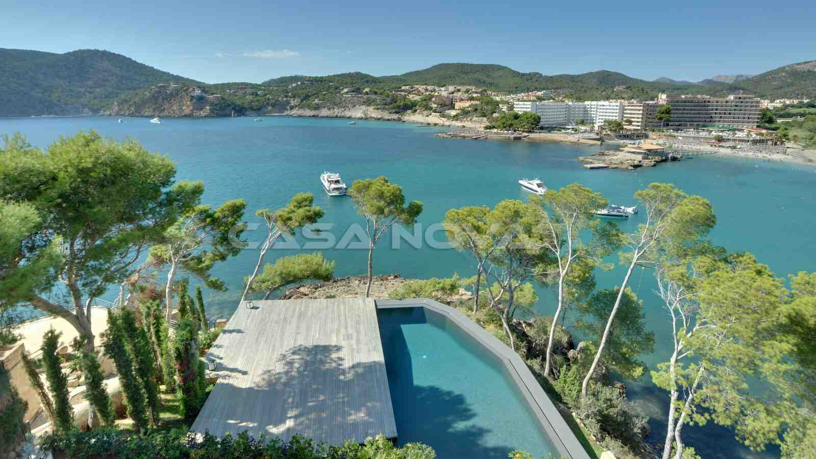 Spektakulärer Panoramablick über Camp de Mar