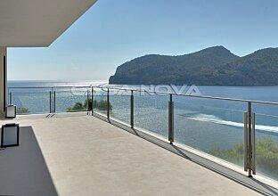 Neue Luxus Villa mit Gästevilla in 1. Meereslinie mit Meerzugang