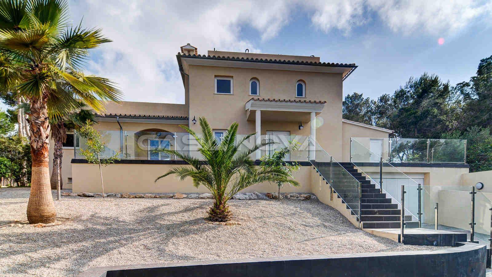 Wunderschöne Villa mit mediterranem Garten