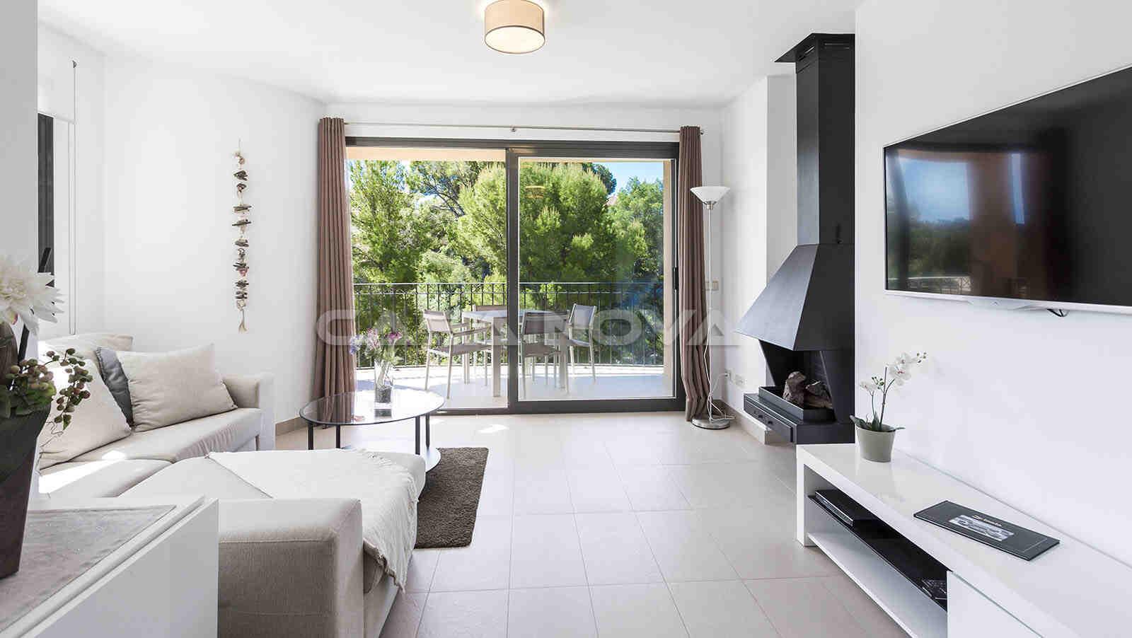 Neubau Garten-Apartment in mediterraner Anlage