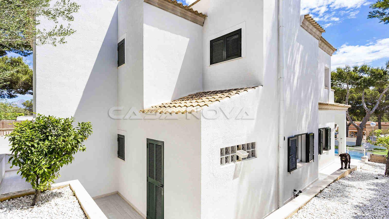 Kürzlich renovierte Mallorca villa mit mediterranen Akzenten