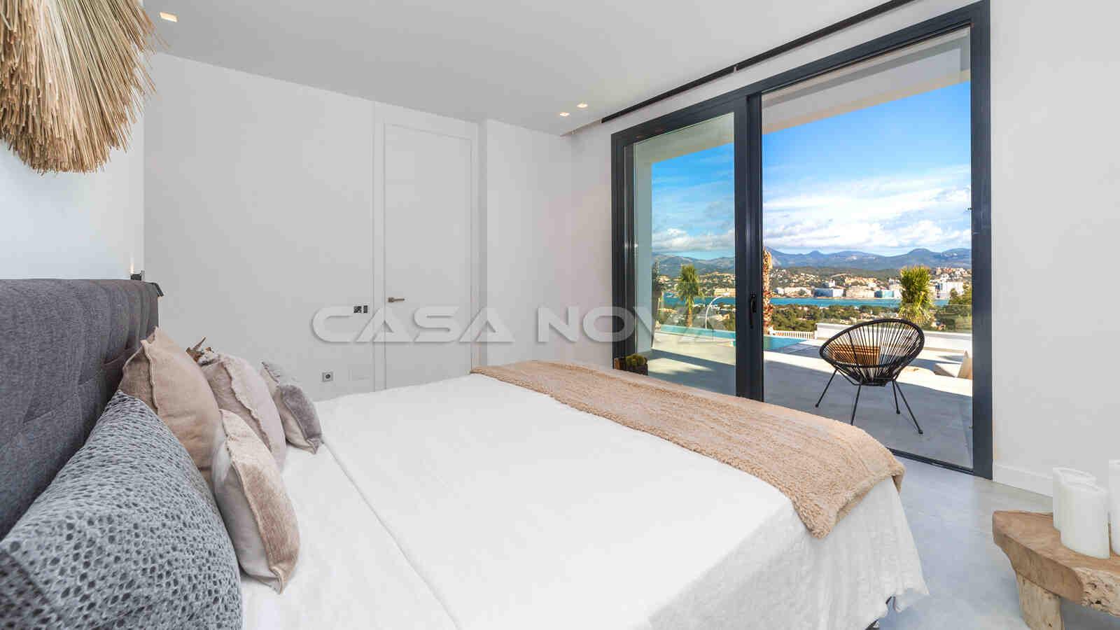 Ref. 2402254 - Gemütliches Schlafzimmer mit Panoramablick