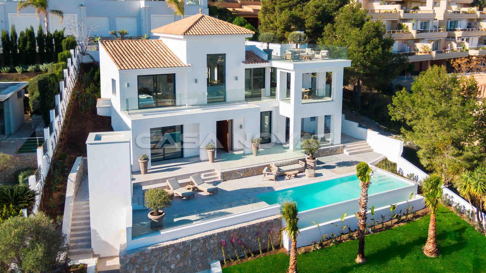 Ref. 2402254 - Luftaufnahme der modernen Mallorca Villa