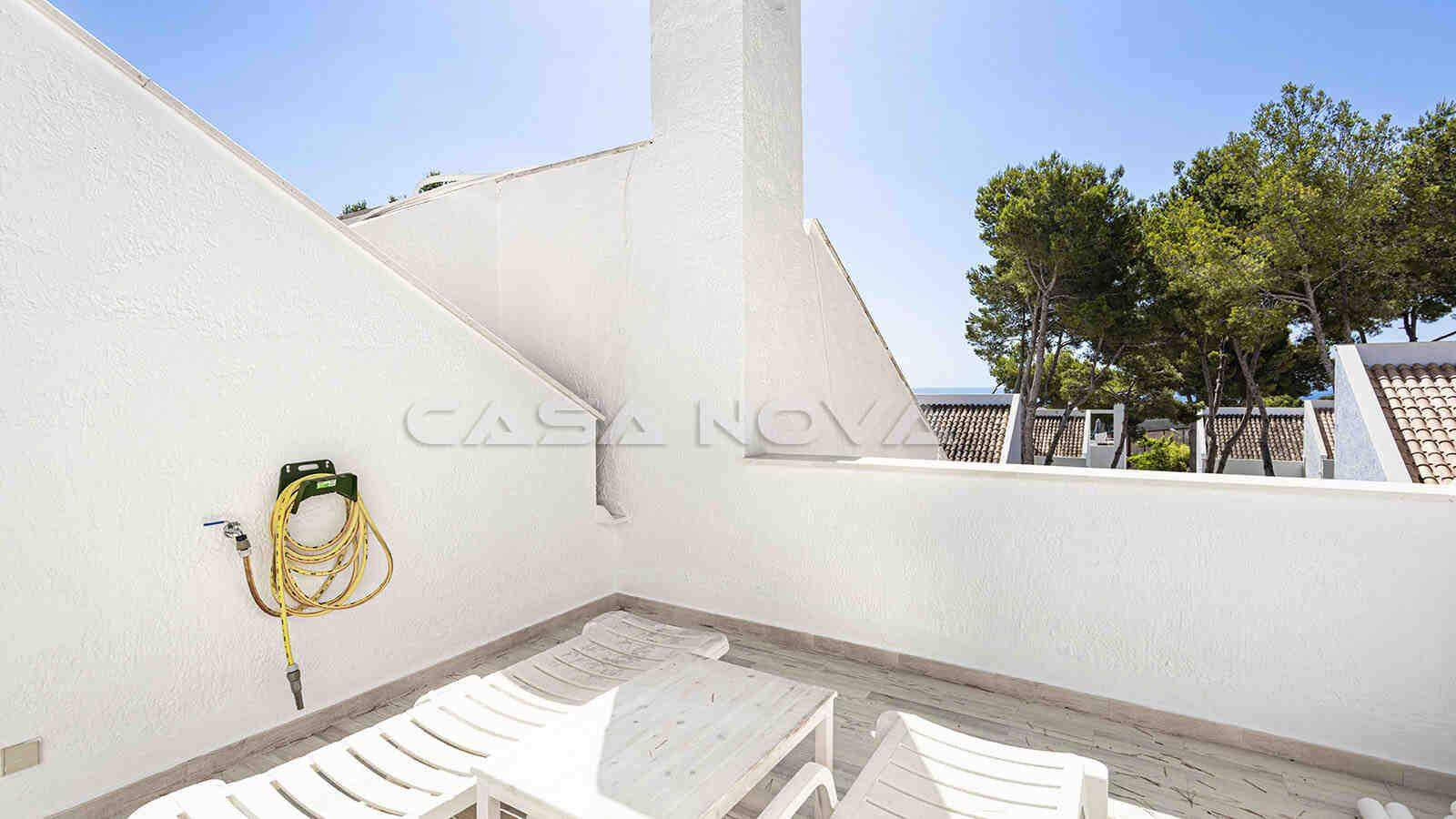 Private Dachterrasse zum sonnenbaden