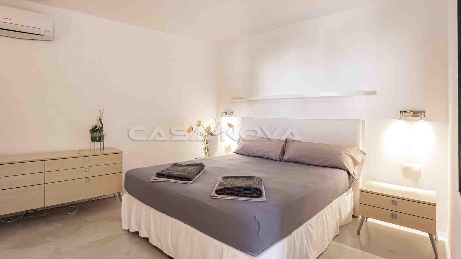Zweites Doppelschlafzimmer mit schicker Ausstattung