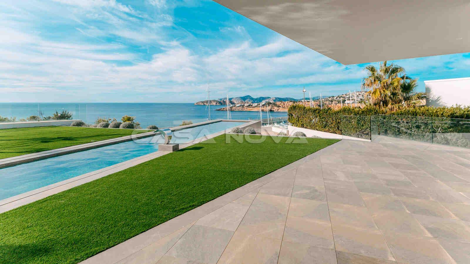 Exzellente Luxus Villa Mallorca in 1. Meereslinie