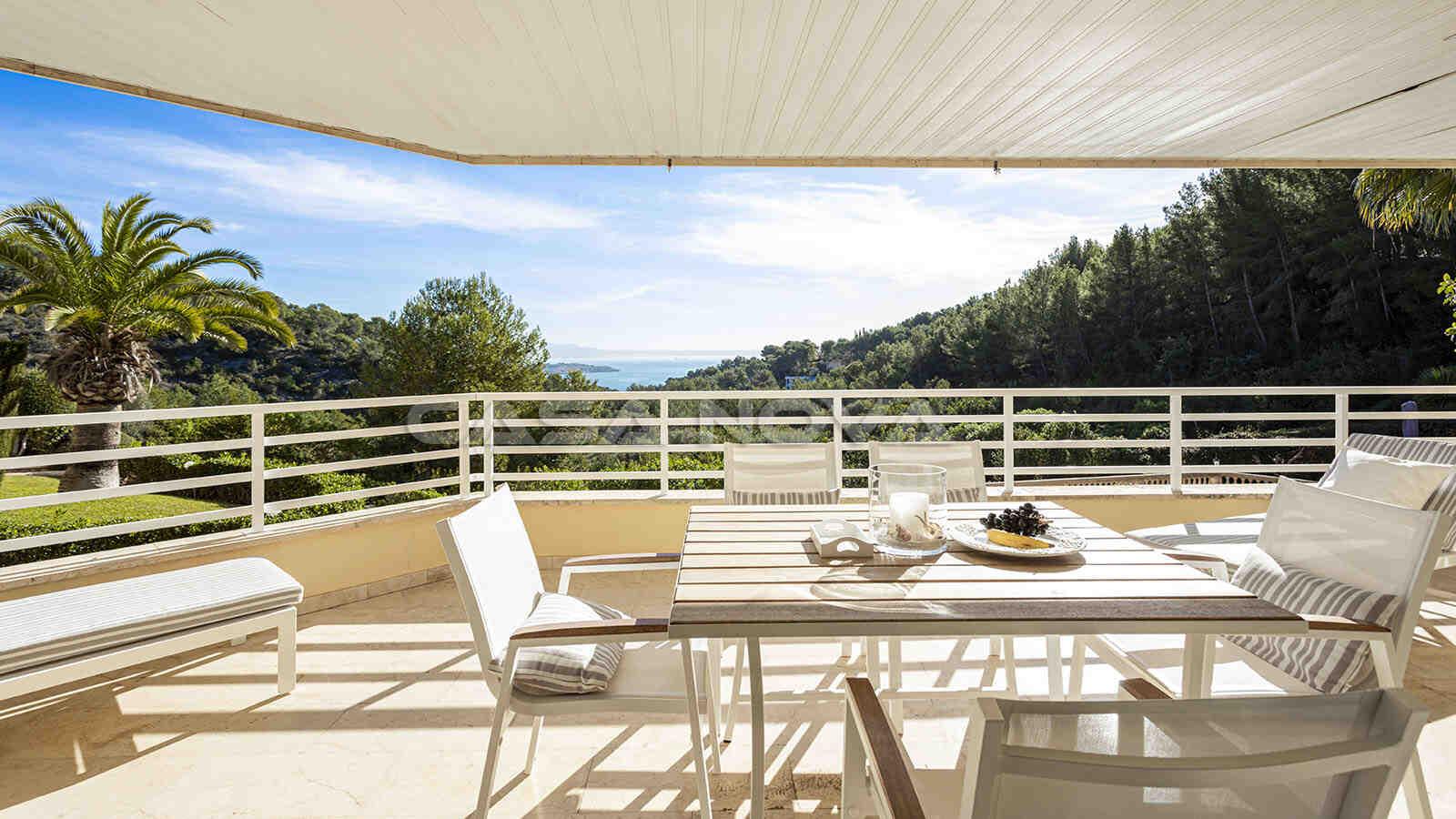 Schönes Mallorca Apartment mit Teil- Meerblick