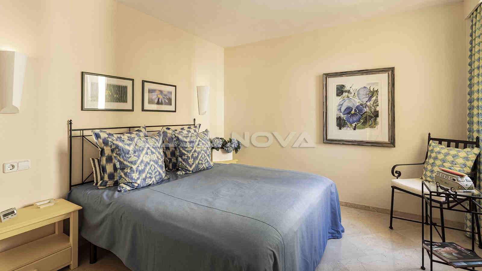 Weiteres Doppelschlafzimmer mit Einbauschränken