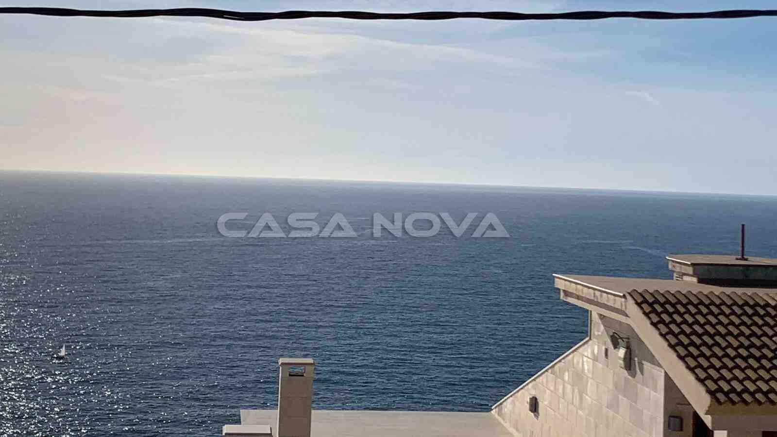 Wunderschöner Meerblick der Mallorca Immobilie