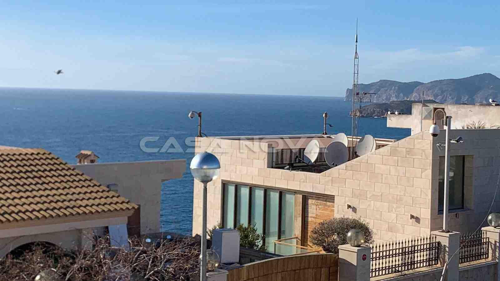 Blick auf das Meer von dieser Mallorca Immobilie