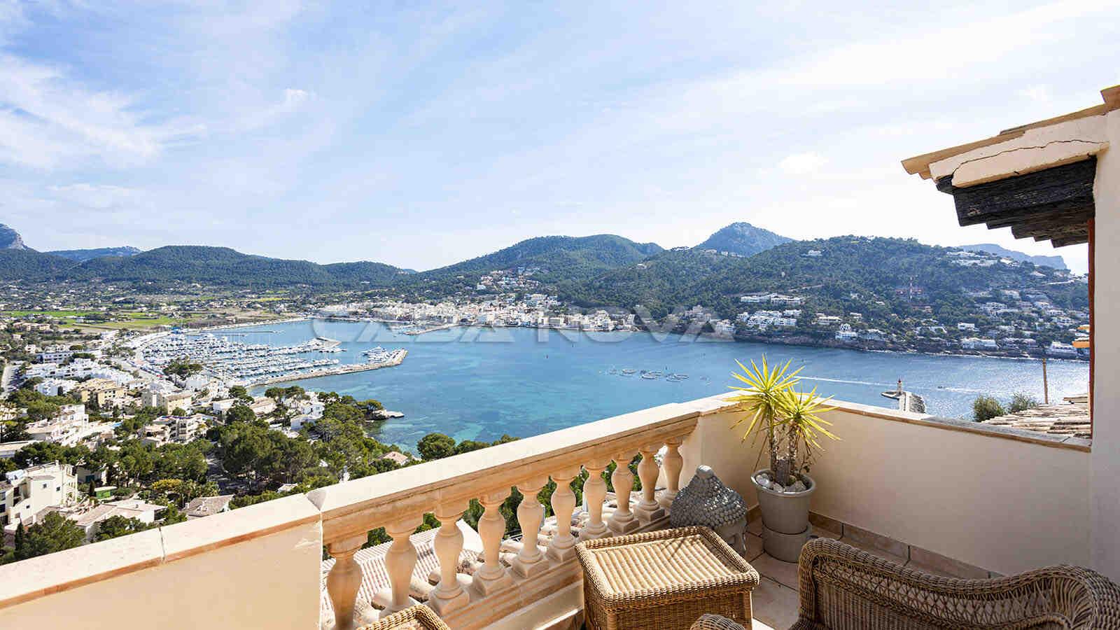 Schönes Mallorca Apartment mit sensationellem Blick