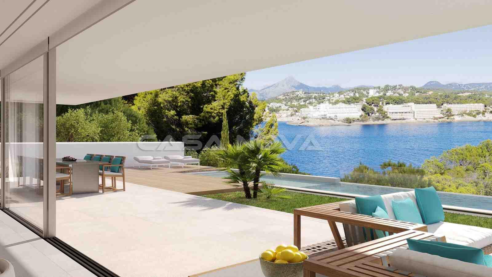 Erstklassige Mallorca Villa in 1. Meereslinie