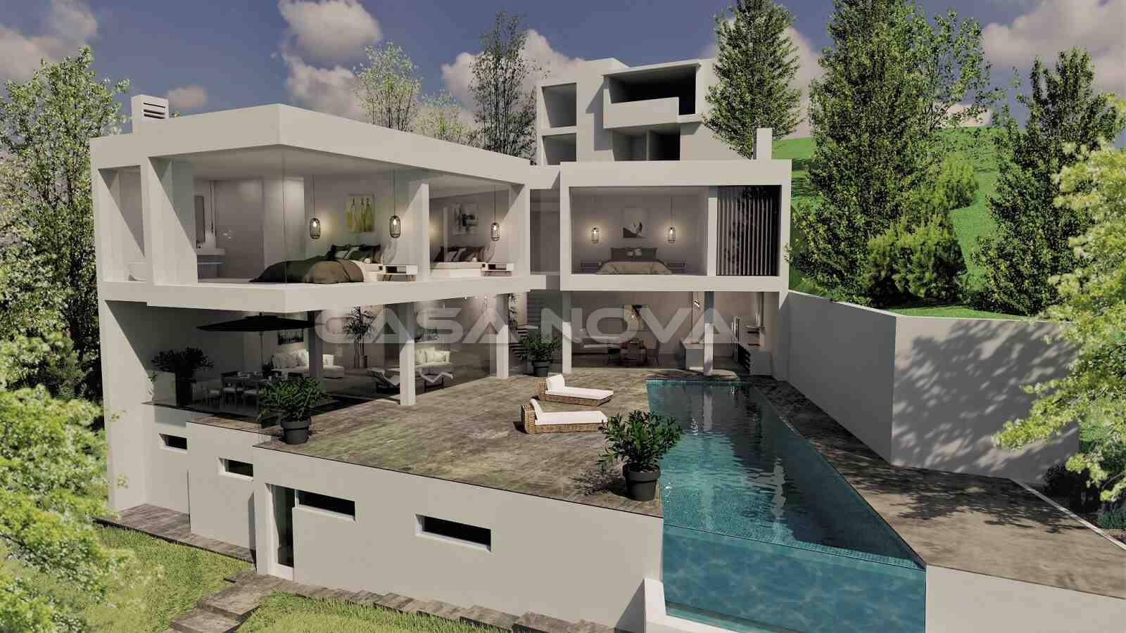 Luxus Villa mit Meerblick und hochwertiger Ausstattung