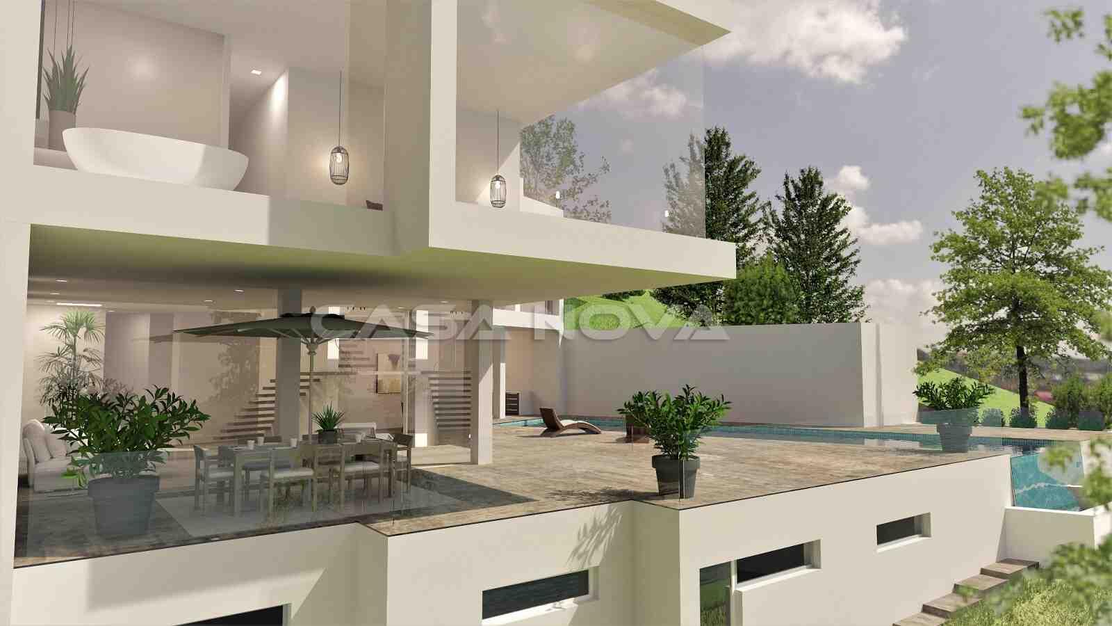 Elegante Villa mit viel natürlichem Lichteinfall