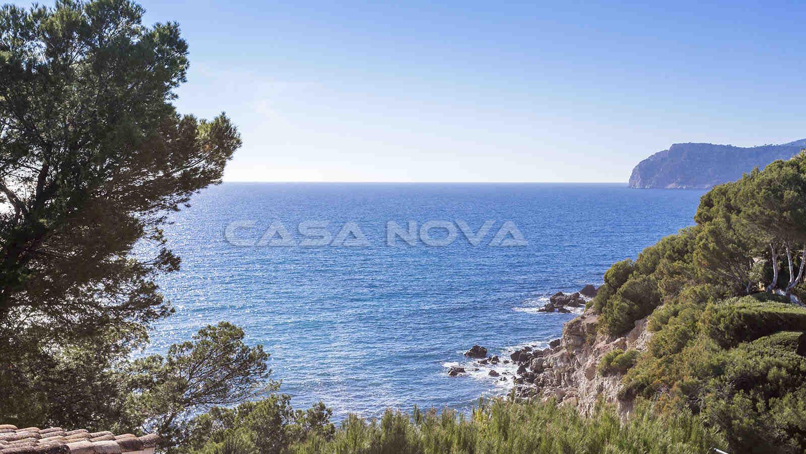 Top Meerblick von dieser Mallorca Villa