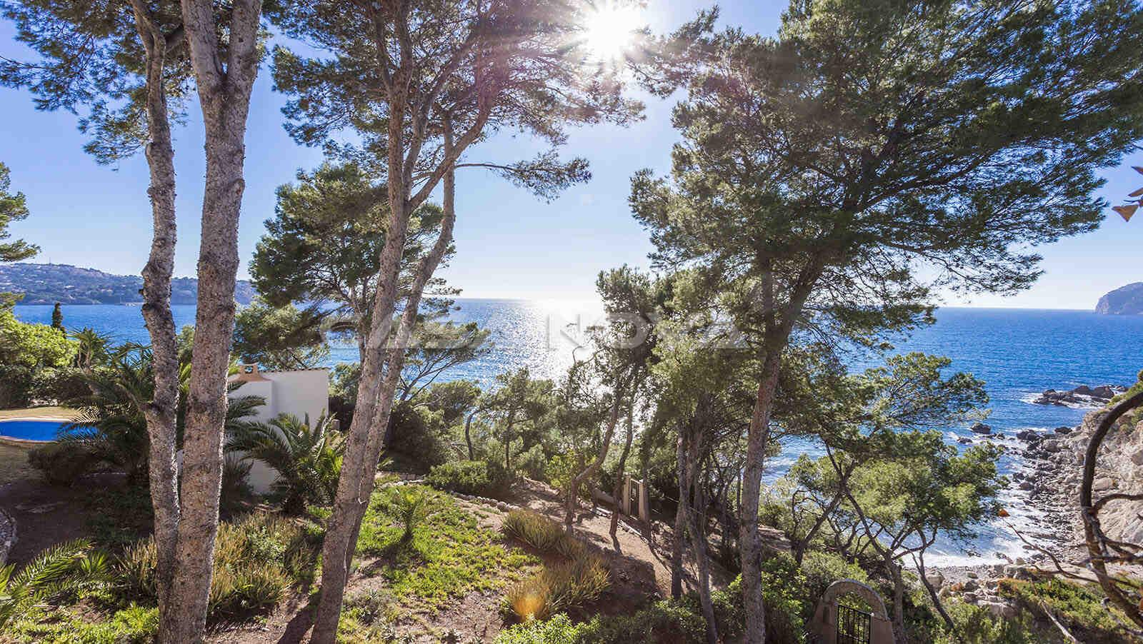 Mallorca Villa in 1. Meeresline