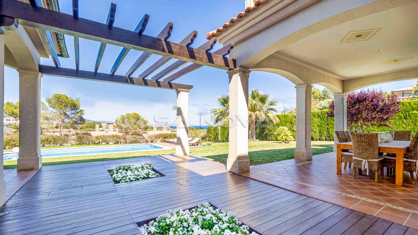 Traumhafte Mallorca Villa mit wundervollem Ausblick