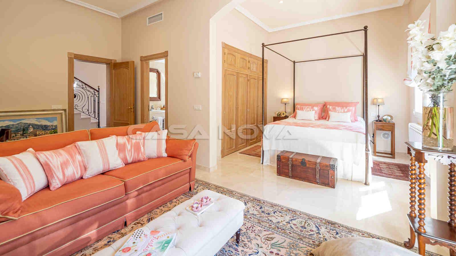 Wundervolles Doppelschlafzimmer mit Bad en Suite