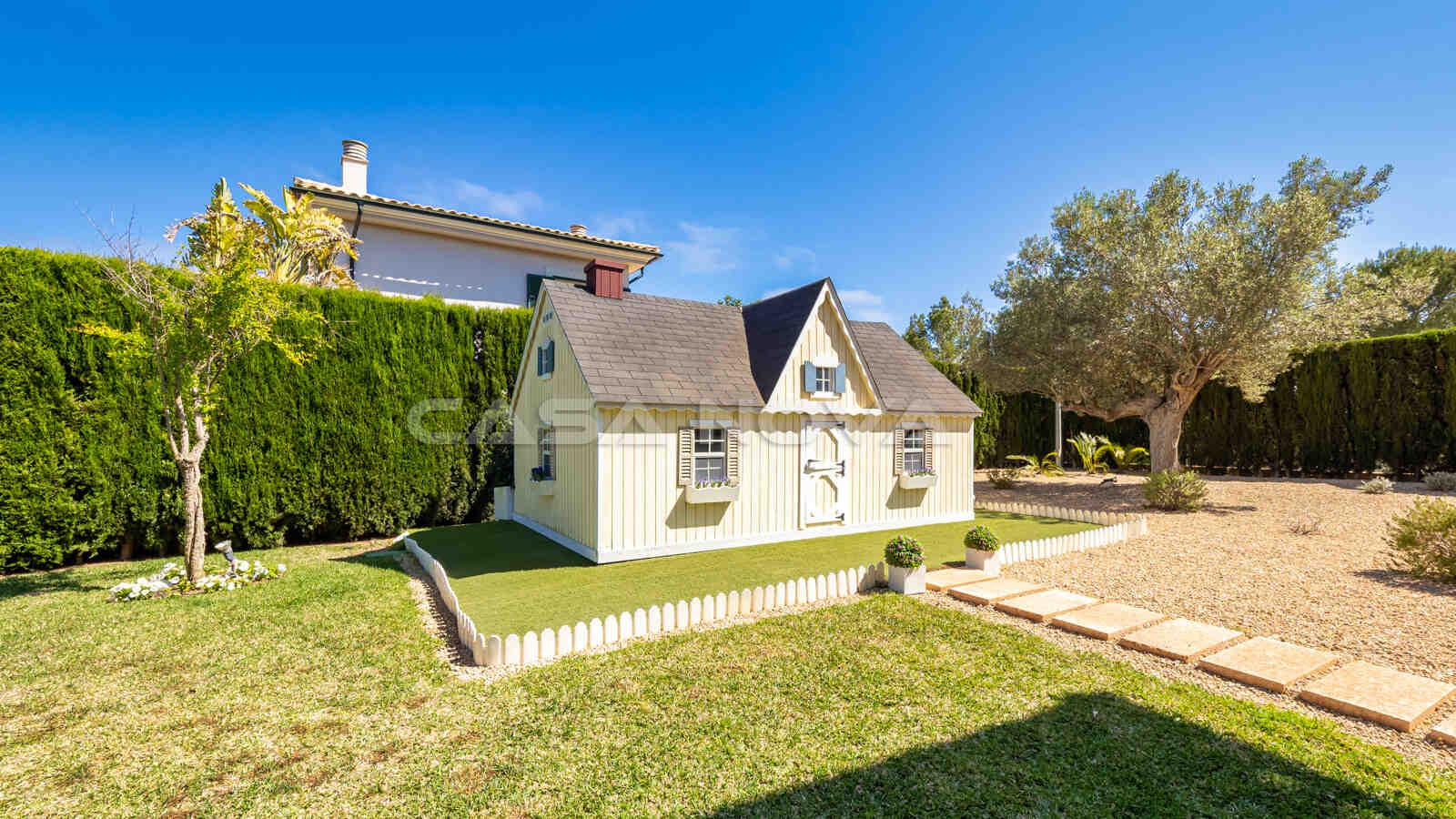 Holzhaus im Garten: Ein Paradies für Groß und Klein