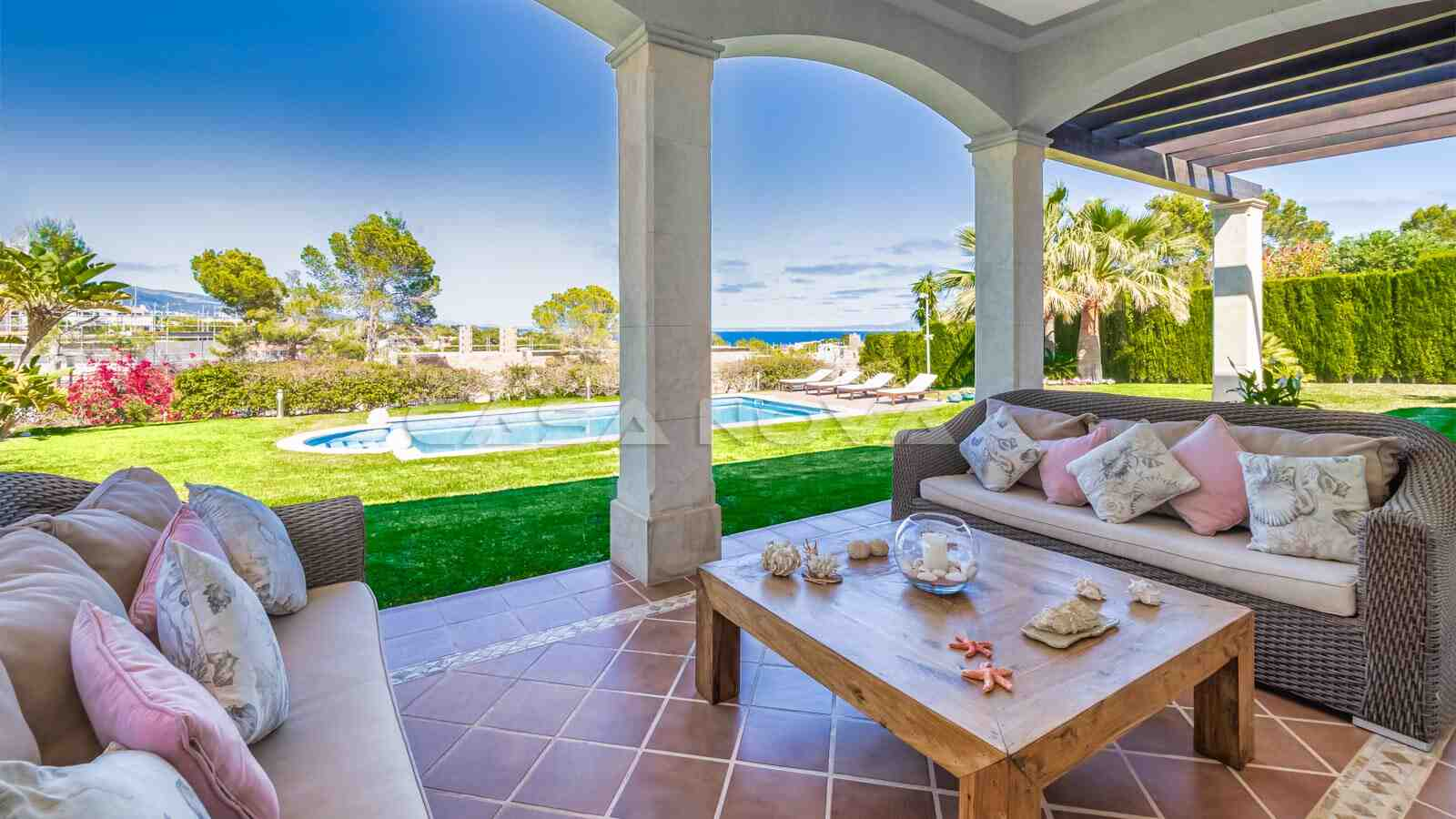 Einzigartige Mallorca Villa mit Meerblick