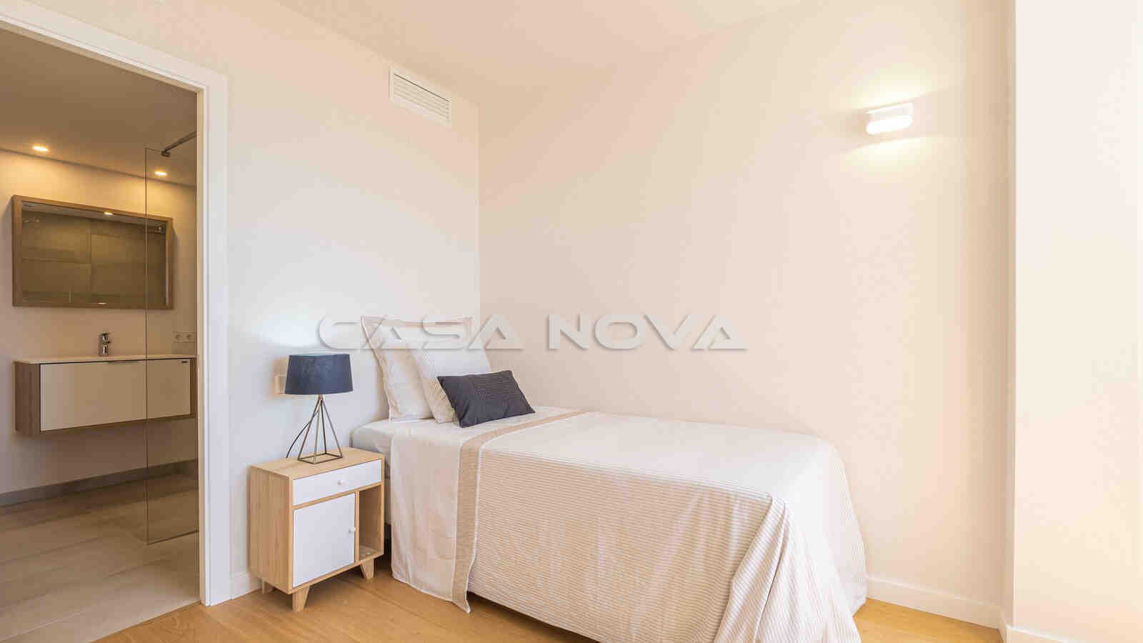 Ref. 1303017 - Drittes Schlafzimmer mit modernem Bad en Suite