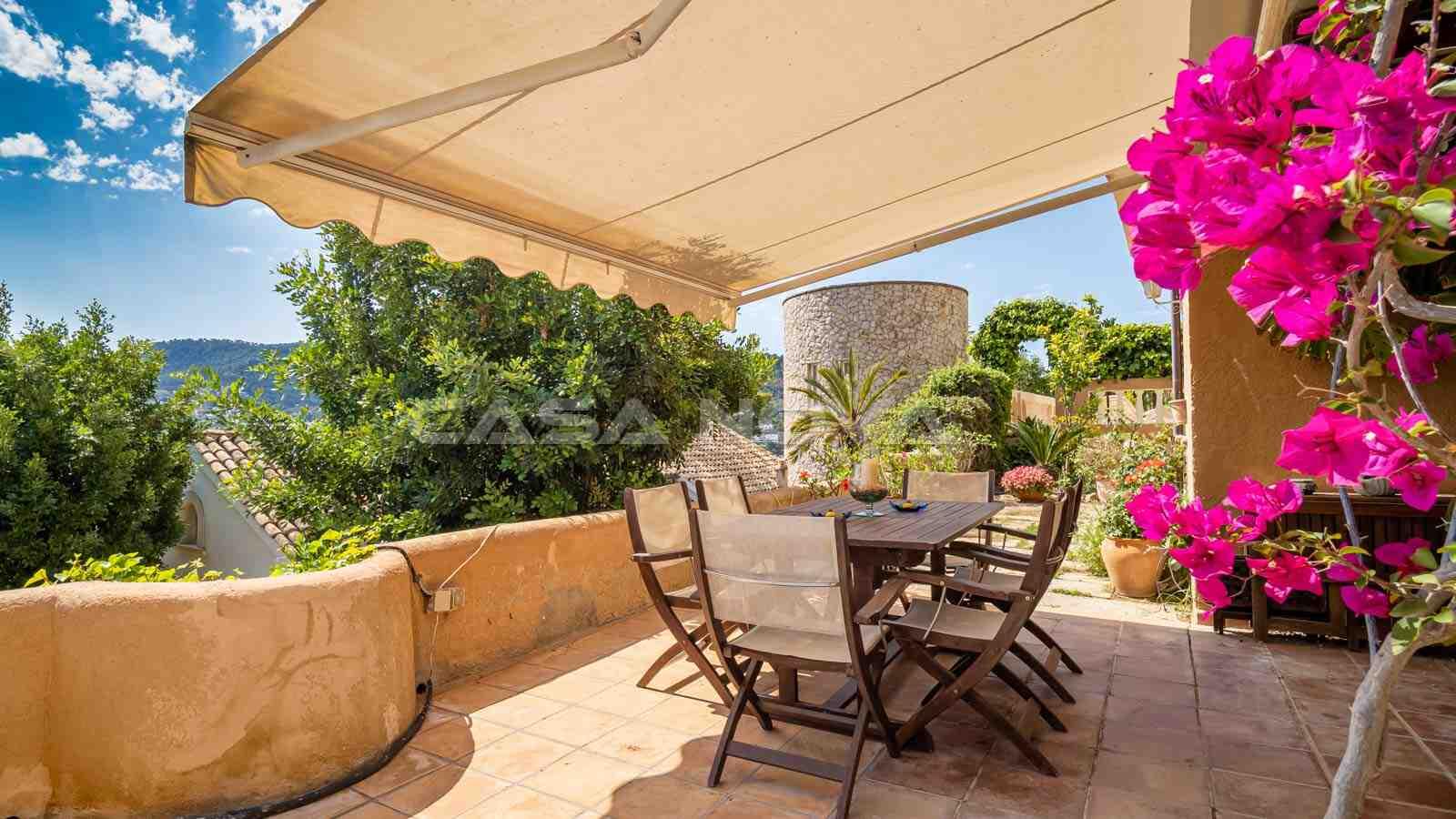 Einladendes Mallorca Apartment mit ruhigem Blick
