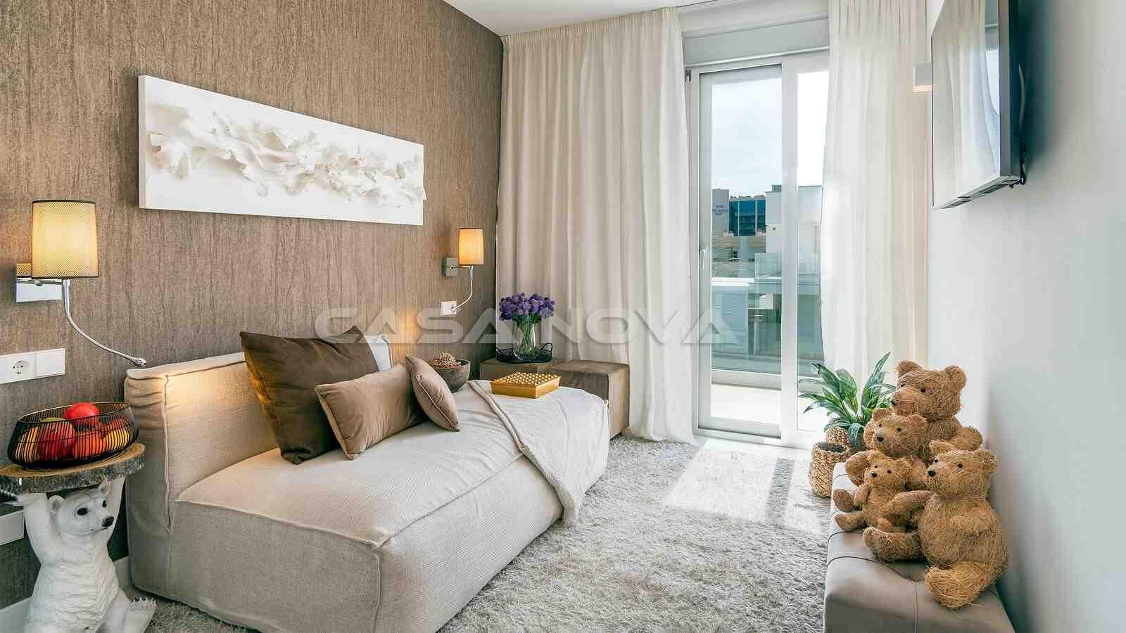 Gemütliches Doppelschlafzimmer mit viel Stil