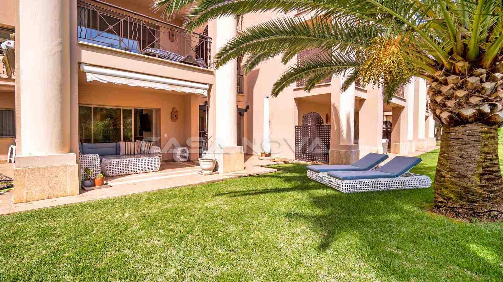 Mallorca Apartment mit gepflegtem Garten