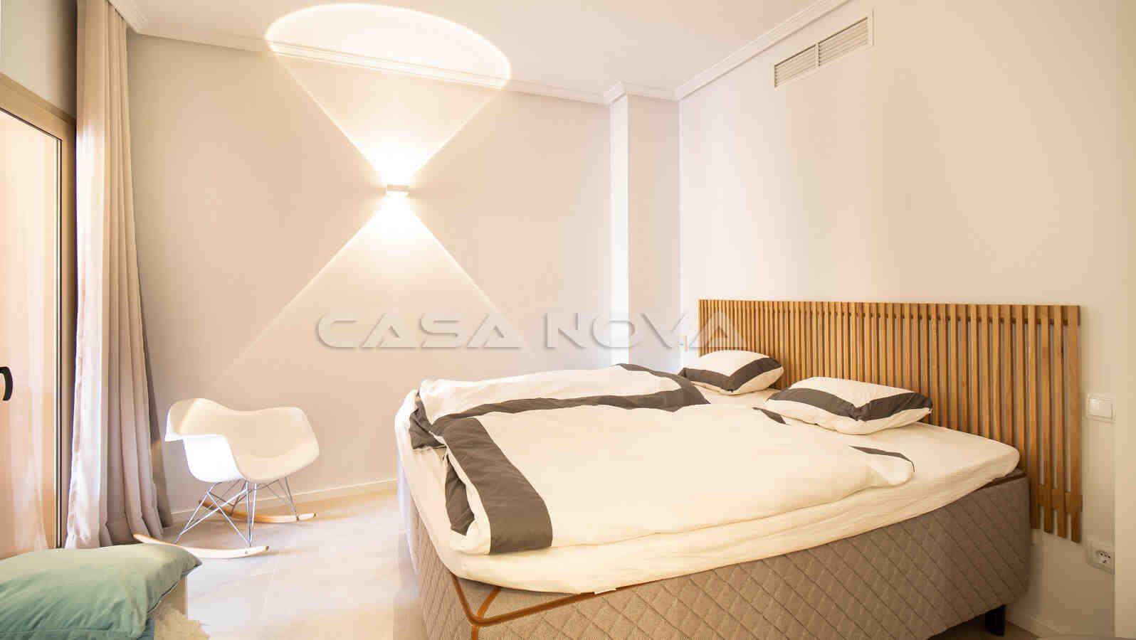 Schönes Doppelschlafzimmer mit Terrassenzugang