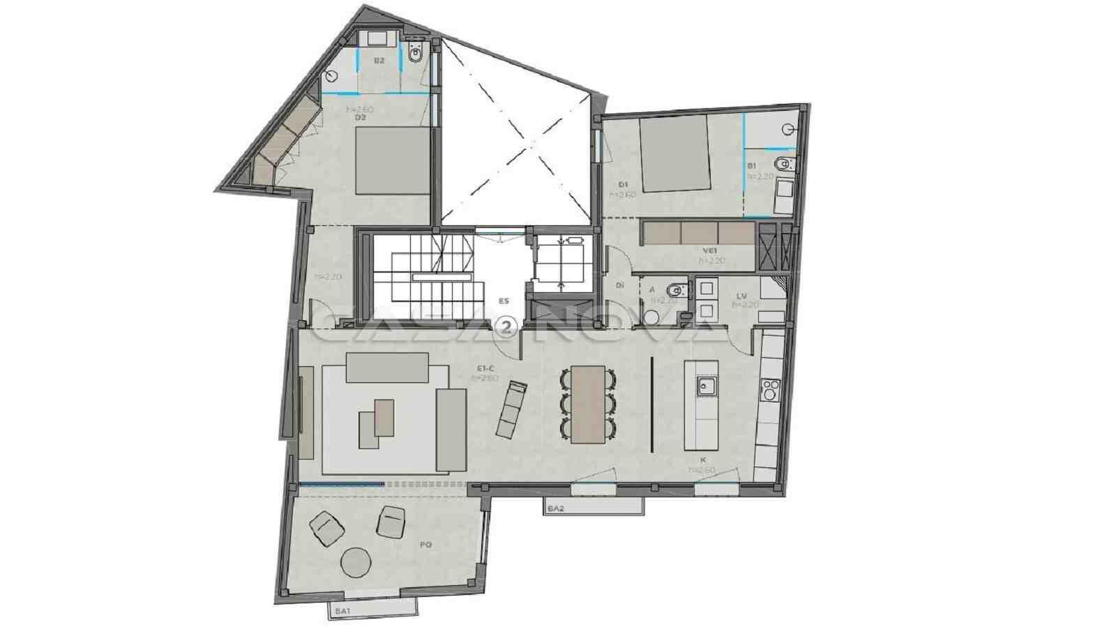 Plan dieser Top Mallorca Immobilie