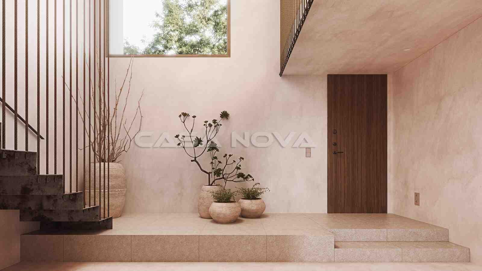 Moderner Eingangsbereich dieser Top Immobilie