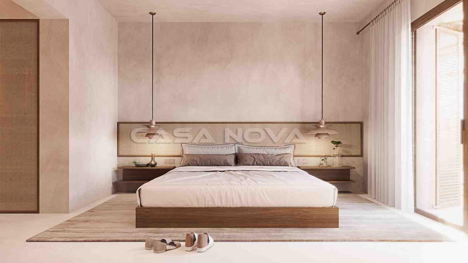 Elegantes Doppelschlafzimmer mit Bad en Suite