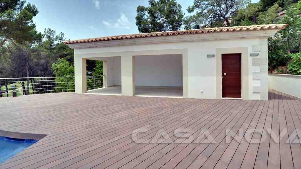 Poolhaus dieser Mallorca Villa