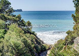 Meerblick Grundstück in Südlage am Meer mit Meerzugang