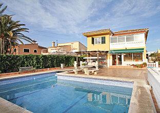 Immobilien Mallorca : Gemütliche Villa mit Pool in guter Wohnlage