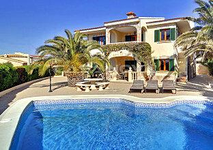 Mallorca Villa in 2. Meereslinie über Port Adriano
