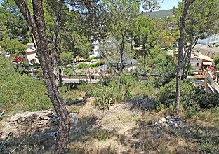 Baugrundstück Mallorca mit Teil- Meerblick in Strandnähe