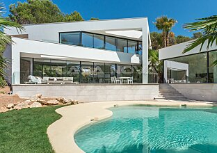 Moderne Designervilla in erstklassiger Wohnlage