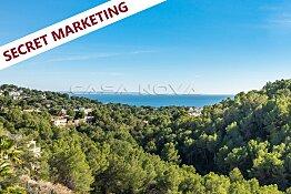 Hochmoderne Neubauvilla Mallorca mit Teil- Meerblick
