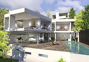 Überragende Mallorca Villa in 1. Meereslinie mit Meerzugang