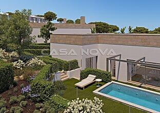 Projekt einer hochwertigen Villa in einer exklusiver Wohnresidenz